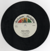 Christopher Ellis - Black On Black / Jamtone - Black On Black Dub (Brixton Heights) 7""